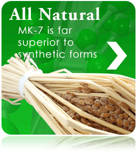 nattoMK-7 is made from all-natural ingredients